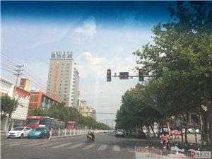 临潼近两天停电多处路段红绿灯出现故障