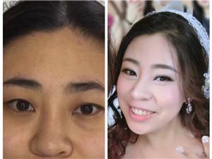 琼海新娘跟妆、早妆、各类彩妆、最新日韩系风格
