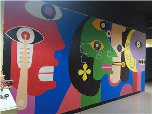 承接各类工装家装幼儿园文化墙墙体彩绘