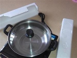 全新的电磁炉附送汤锅