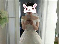 亲,转让婚纱哟