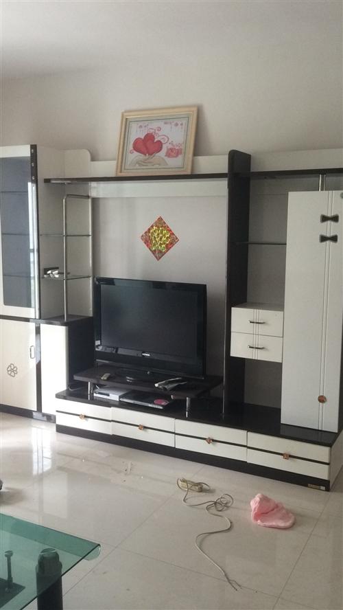 低价出售电视背景柜一组