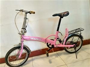 九成新22折叠自行车出售