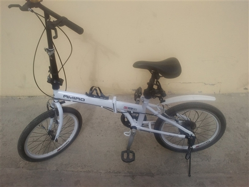 因本人不在本地上學,現將一輛新的6級變速折疊自行車以150元轉賣,有意者聯系