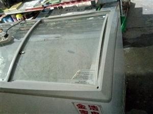 超市卖雪糕用的冰柜