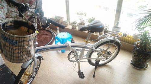 全新正品永久牌20寸折叠自行车转卖