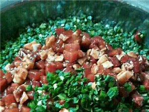自家手工制作水饺外送。