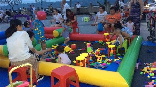 兒童充氣玩具沙灘