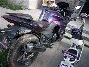 两轮摩托车