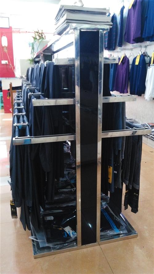 男裤货架两个.。