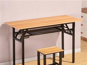 澳门银河网址平台课桌椅带凳子