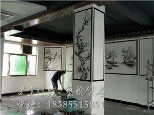 室內外藝術壁畫,3D立體墻繪