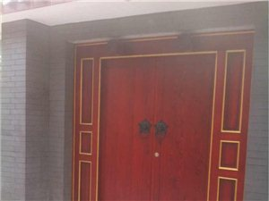 实木花格窗户,古建大门