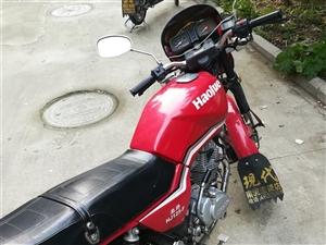 豪爵125摩托车转让