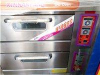 两层燃气烤箱,烘培全套设备低价出售