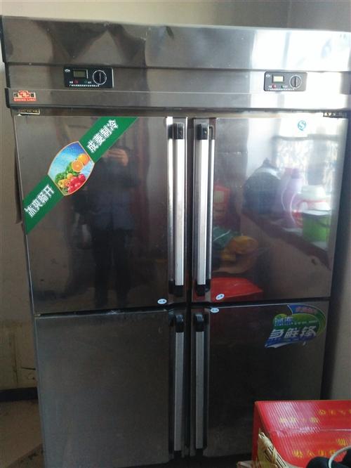 出售一个四门冷柜