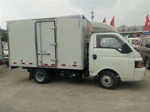 转让江淮康铃X5厢式货车
