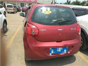 低价出售2010年奇瑞瑞麟1.0L红色手动挡轿车