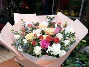 各类鲜花、干花