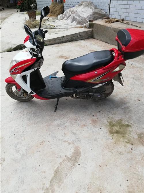 雷克踏板摩托车,有牌照,年审正常,因去外地工作,现出售可看车,非诚勿扰