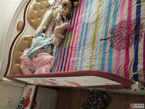二手床一张,