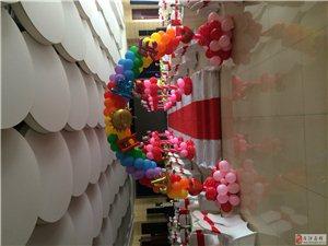 宝宝百日生日、婚礼气球布置