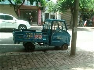 四轮电动货车九成新