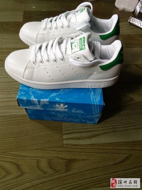 绿尾小白鞋全新包邮低价出售