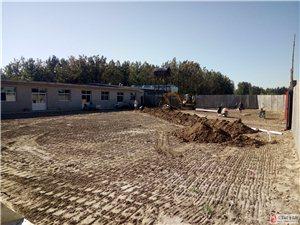 石化新村南侧,八中斜对面有一大院,正房八间东房九间对外出租