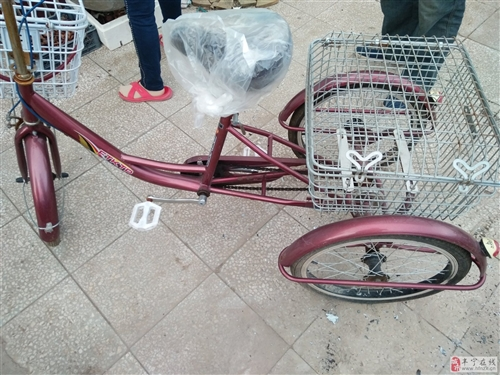 老年人三輪車