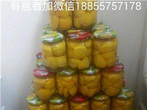 碭山黃桃罐頭