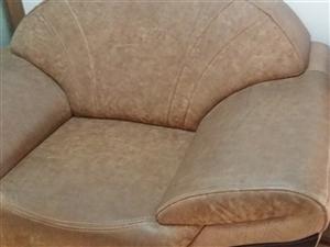 真皮组合沙发出售