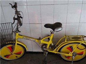 新潮女式折叠可变速自行车