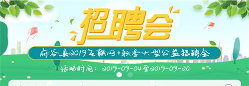2019互联网+大型公益招聘会