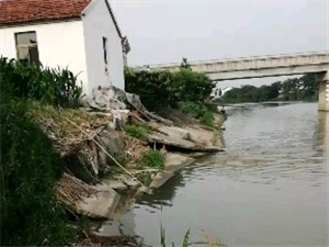 河坡倒塌何时才能修复