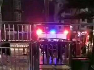 岳池荣薪悦城地下室电动四轮车充电爆炸