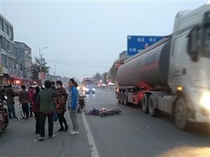 四所楼镇发生严重交通事故