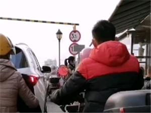 """桃江小地方但是又隔三差五的上演大城市的""""堵车"""""""