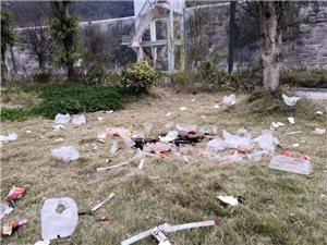 滨河公园环境破坏
