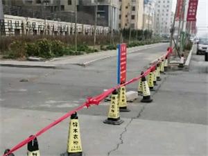 渤海锦绣城西门物业强势拦路