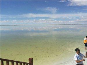 漂亮的格尔木盐湖