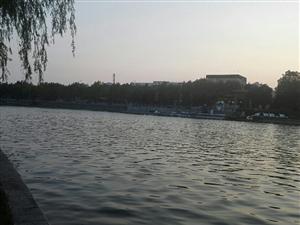 清淤后的月湖