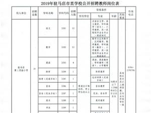 2019年�v�R店市直�W校公�_招聘教���章