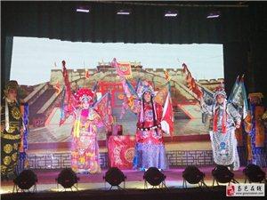 7月3日南岩乱弹剧团演出新编剧刘秀登基。