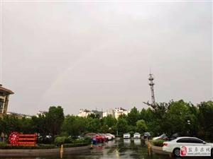 阜��城雨后�彩虹