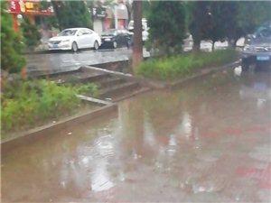 酒泉的下水真是太糟糕了,就成这样了,相关部门能不能处理一下位于广厦佳苑西小区南侧人行道的下水