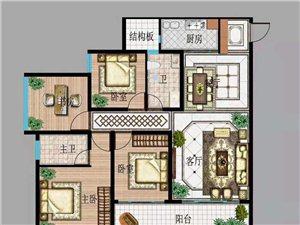 房屋出售,平方面积122.3,毛坯,交通便利,购物方便,环境好,户型好,买到就是赚到,小主们快快下手