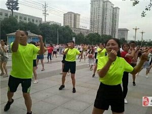 公园健身操队