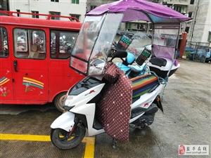 注意,注意,二轮车严禁安装遮阳伞