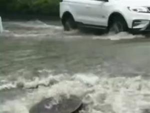 汝州今日突降大雨